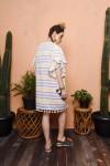 CARI DRESS MAROON