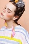 CELIA EARRINGS PINK
