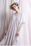 CHRISSY DRESS WHITE / CREAM