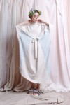 NIESHA DRESS WHITE / LIGHT BLUE