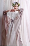 NIESHA DRESS WHITE / PINK