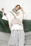 LAMIA TOP WHITE CREAM