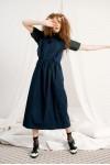 SIMONE DRESS NAVY