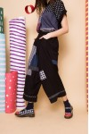 NONO PANTS BLACK PATCH