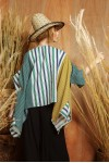 JANE TOP YELLOW / GREEN STRIPES