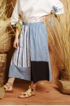 DANY SKIRT BLUE STRIPES