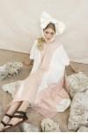 AAYLA DRESS WHITE / PINK