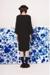 NIMA DRESS BLACK DYED