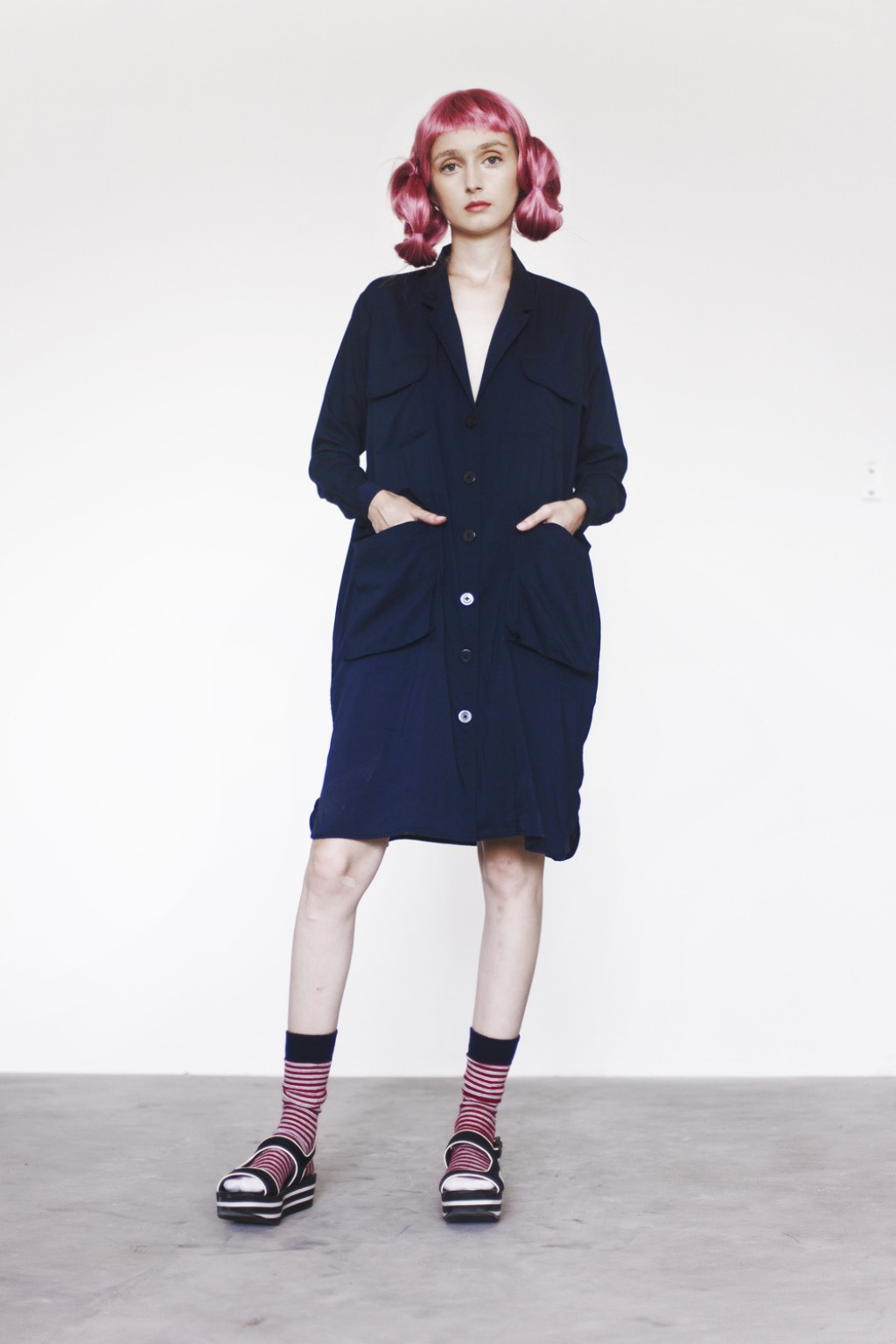 CHICHO DRESS NAVY