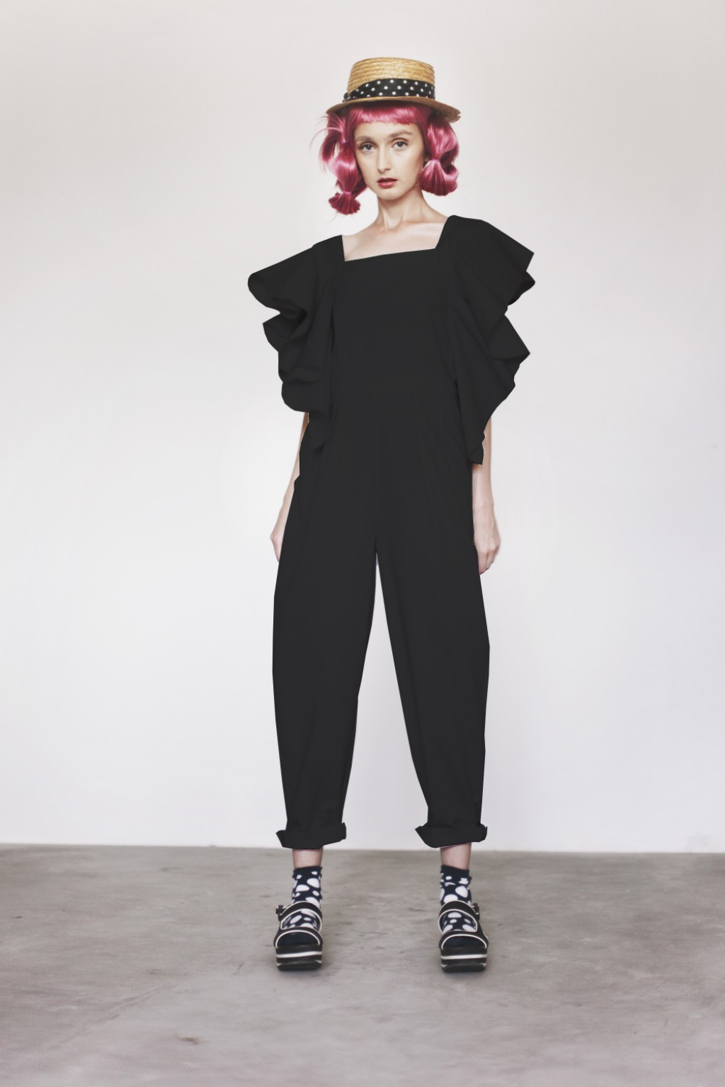 KIYO JUMPSUIT BLACK