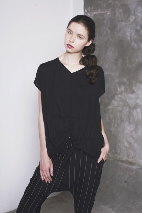 MAO TOP BLACK