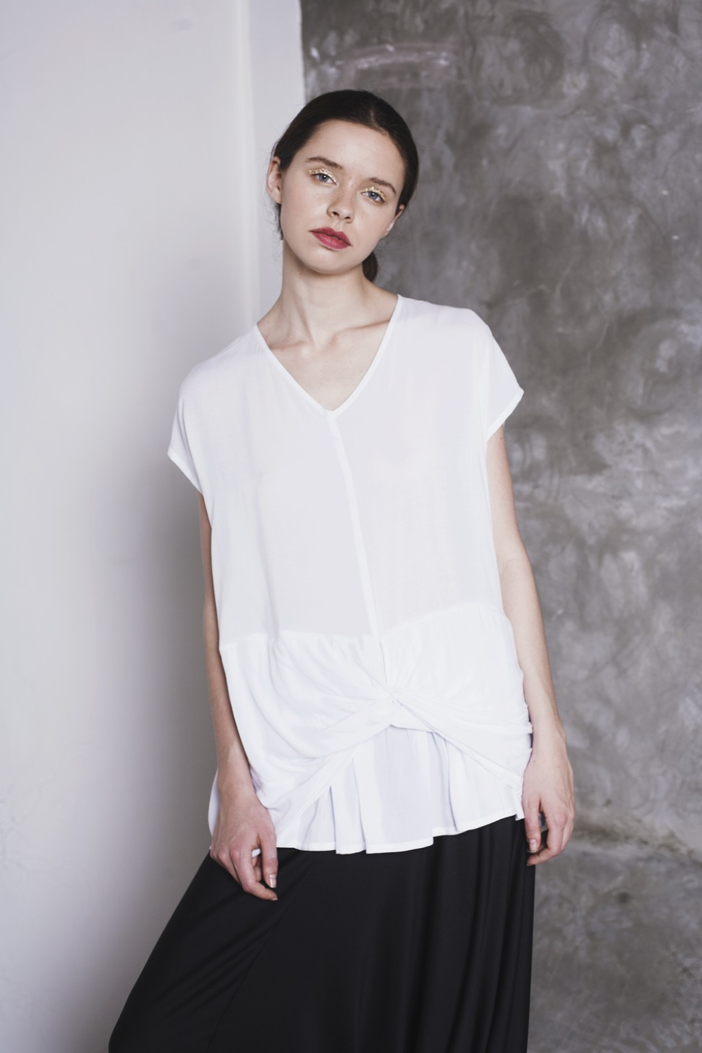 MAO TOP WHITE