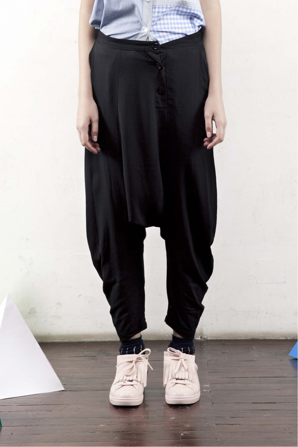 RUSTY PANTS BLACK