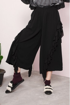 GAURI PANTS BLACK