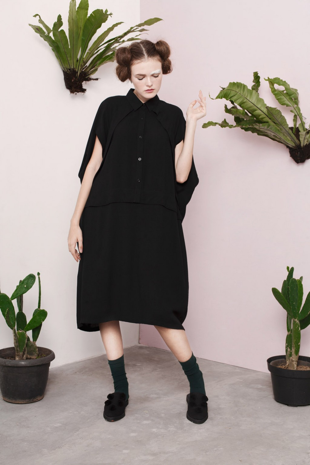 STASIA DRESS BLACK