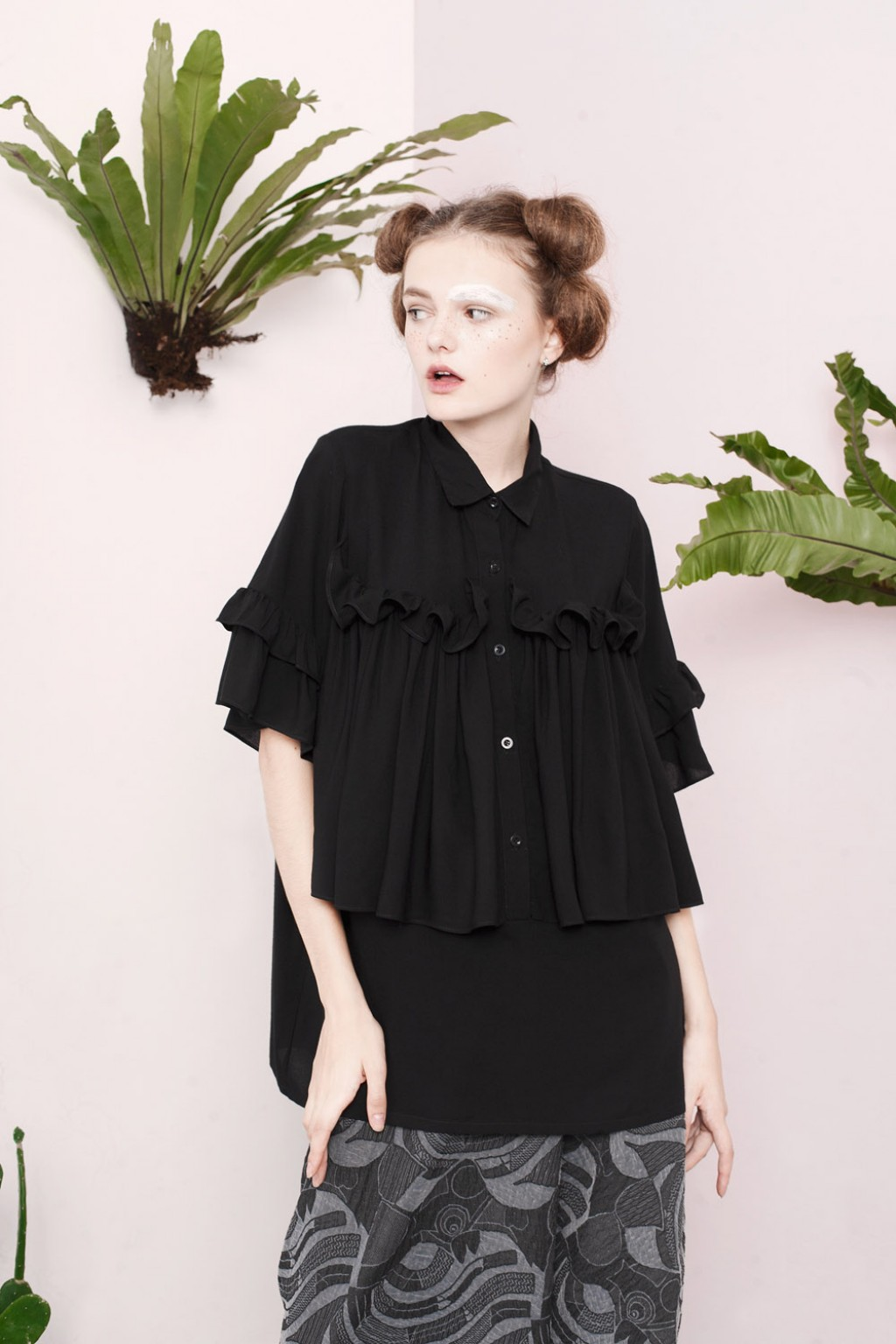 CYNARA SHIRT BLACK