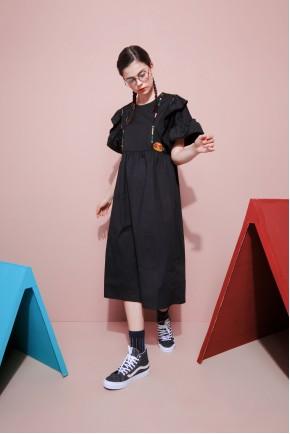 OLATHE DRESS BLACK