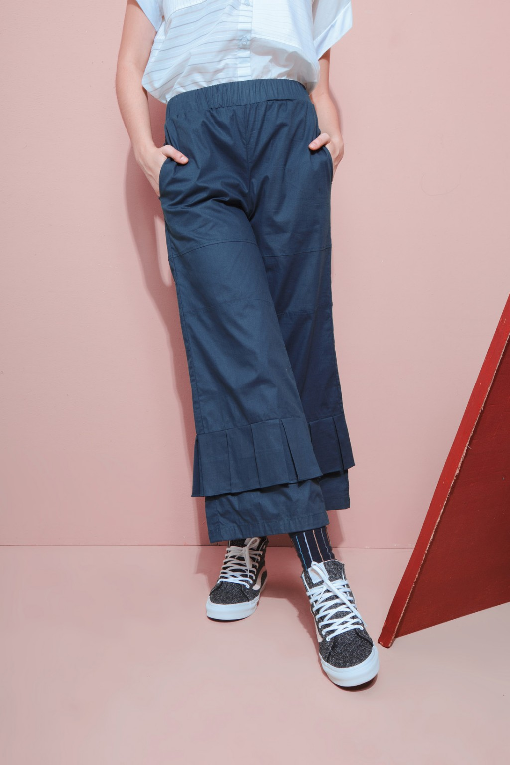 MASKA PANTS NAVY