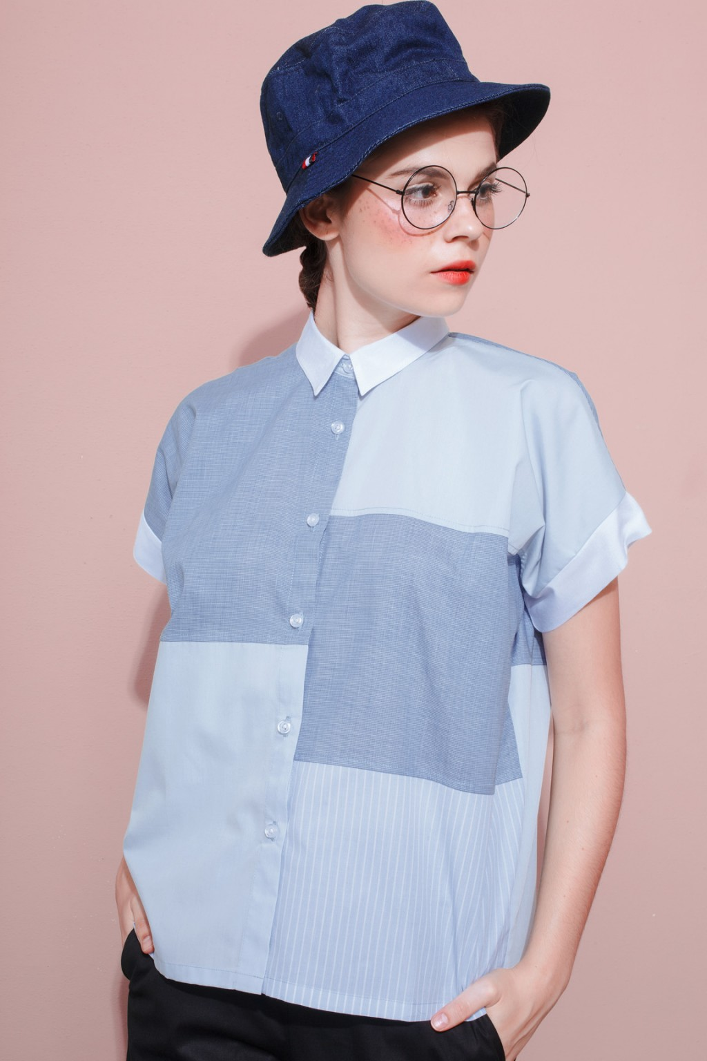SOPHIA SHIRT BLUE