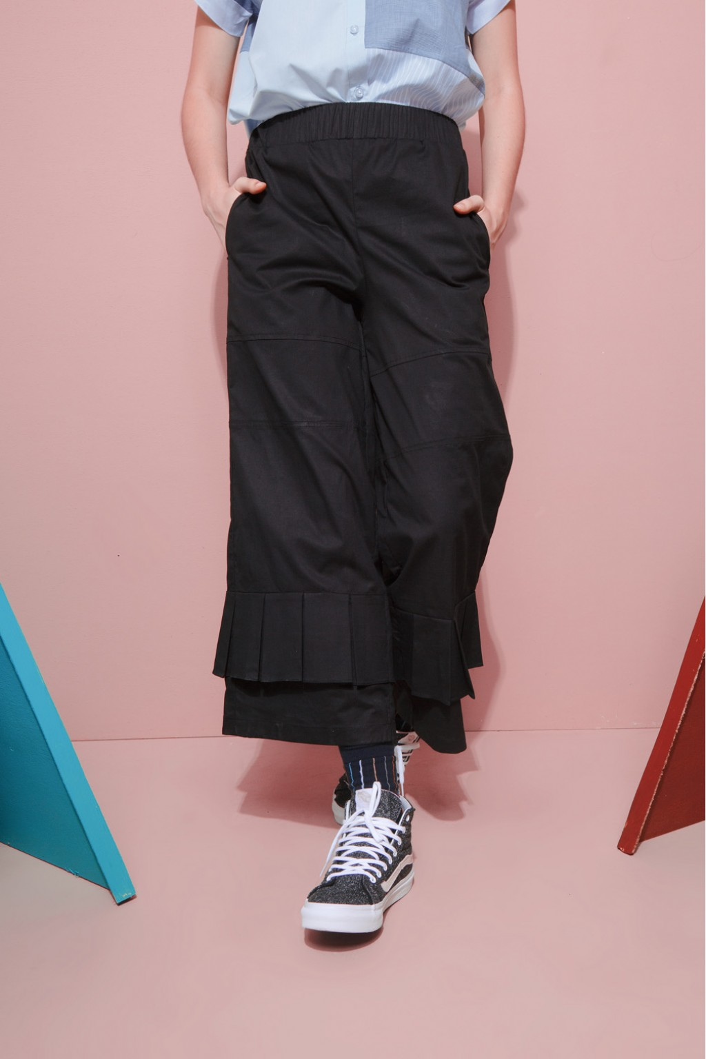 MASKA PANTS BLACK
