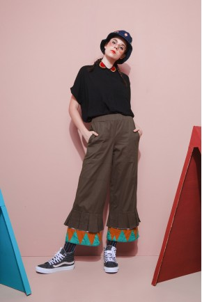 MASKA PANTS BROWN