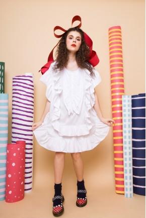 CHLOE DRESS WHITE