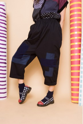 TAWA PANTS BLACK PATCH
