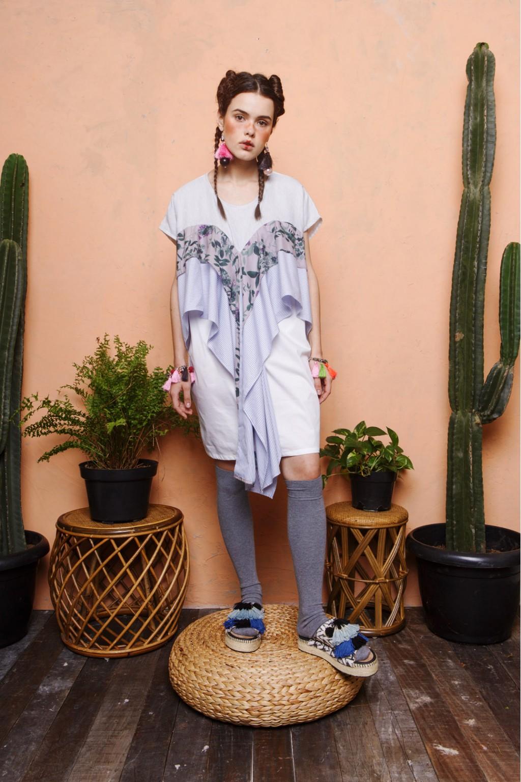 CARLOTA DRESS WHITE