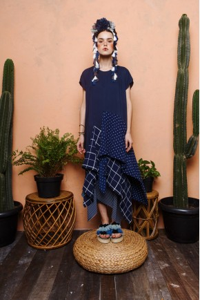 SARITA DRESS NAVY