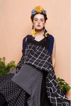 ALETIA DRESS BLACK