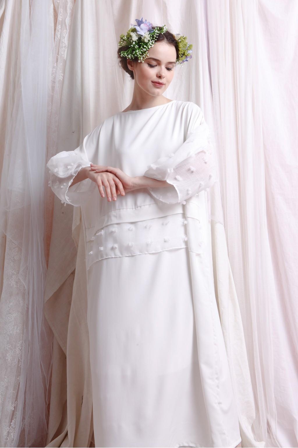 AMANI DRESS WHITE