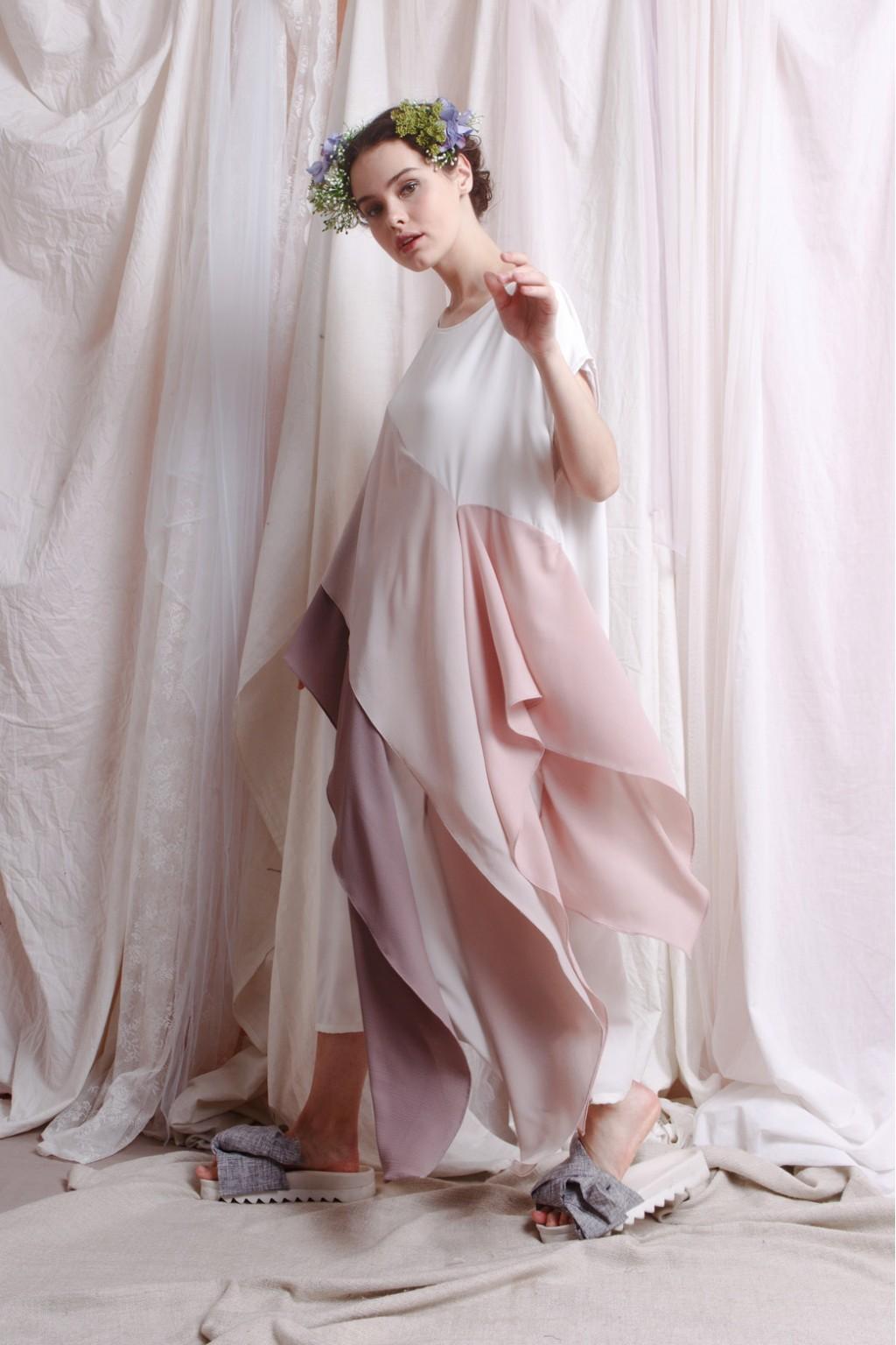 ISHTAR DRESS WHITE