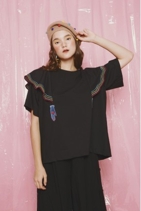 VIRGO TOP BLACK