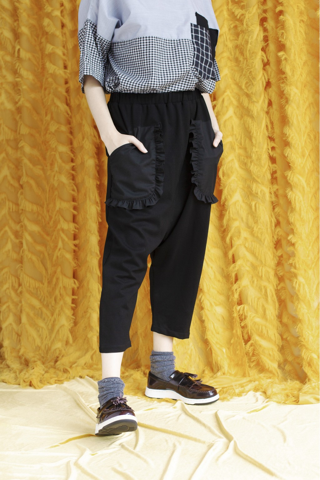 OAT PANTS BLACK