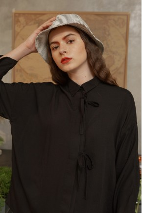 LUNA SHIRT BLACK