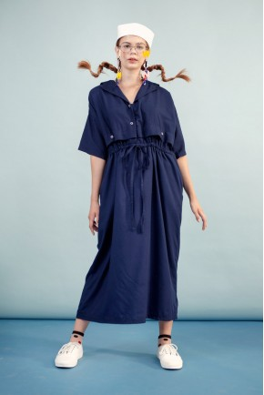 RUNA DRESS NAVY