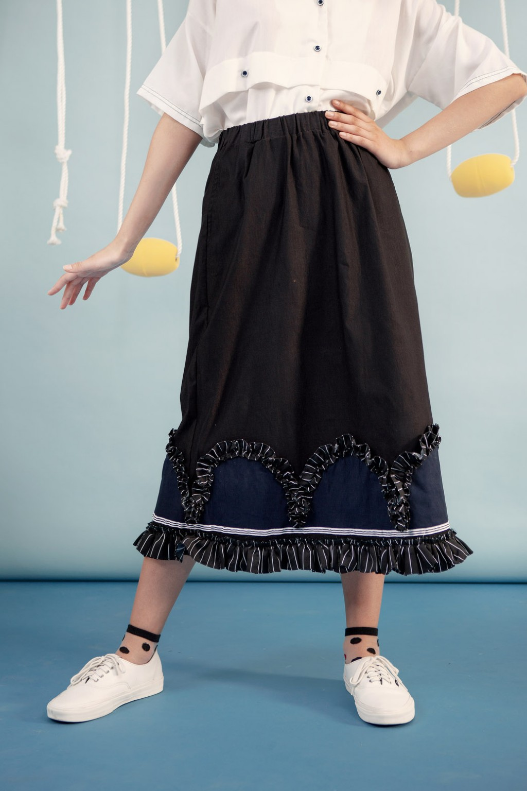 TUVA SKIRT BLACK