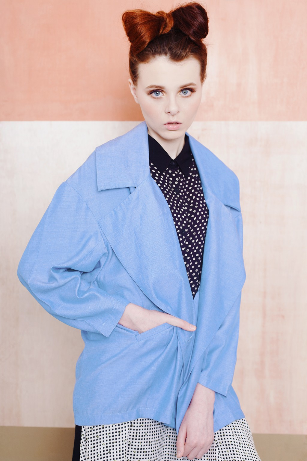 SOPHIE JACKET BLUE