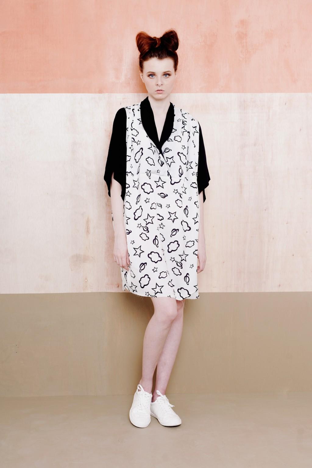 LILA DRESS WHITE